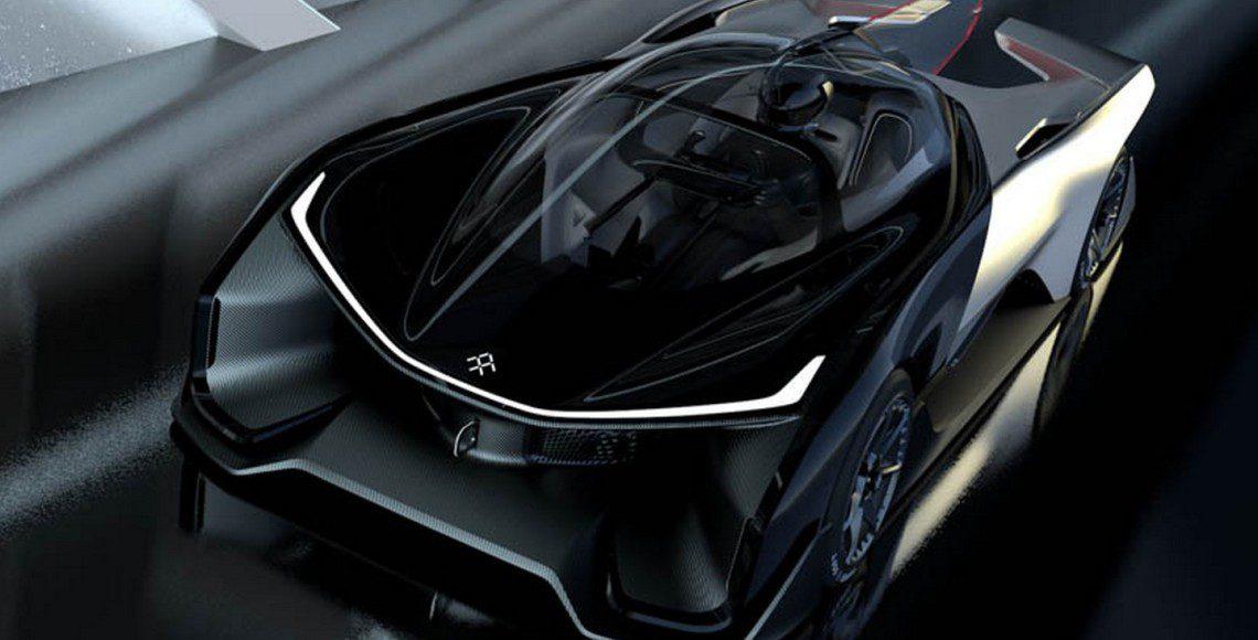 Faraday Future EV concept