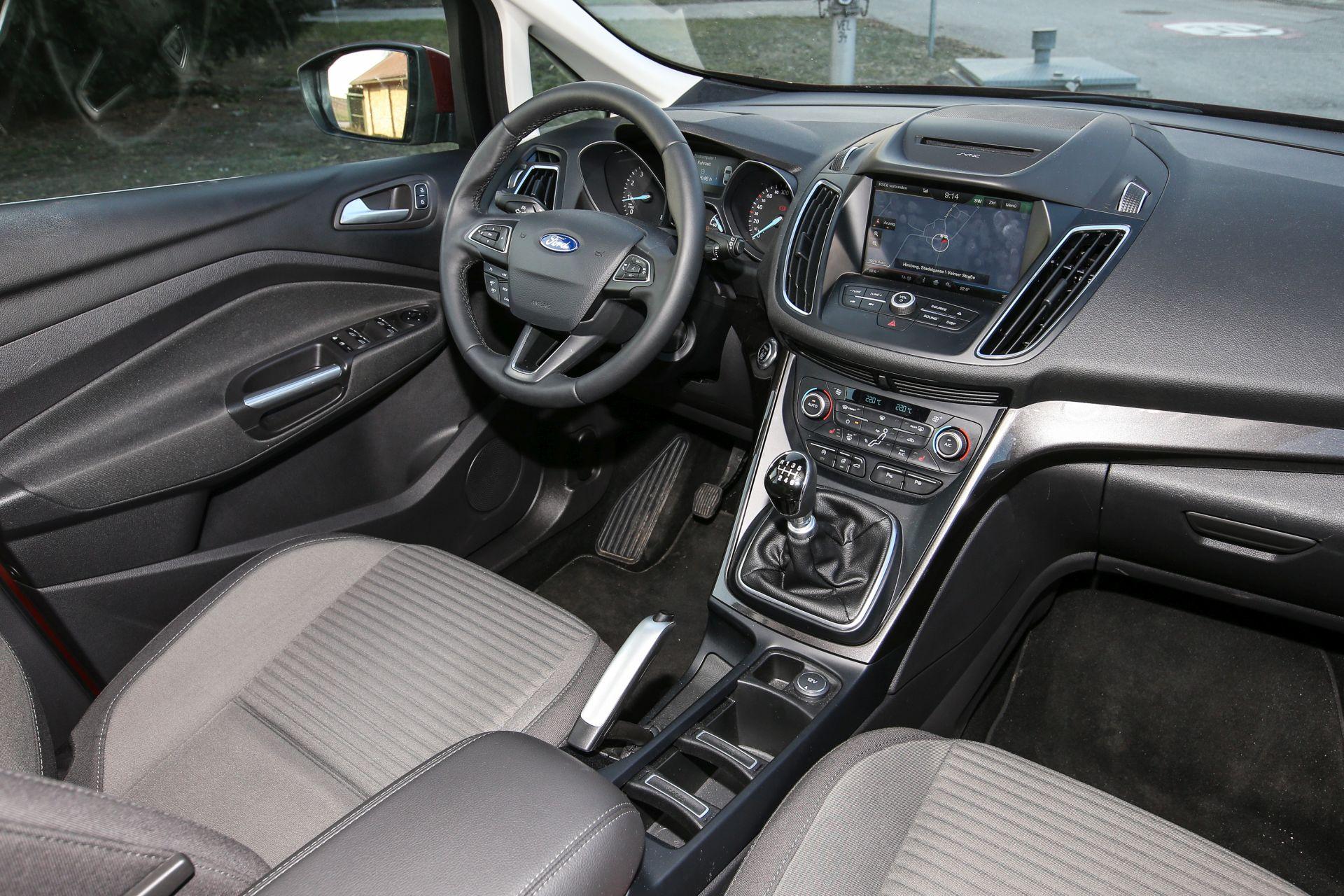 test ford c max 1 0l ecoboost titanium alles auto. Black Bedroom Furniture Sets. Home Design Ideas