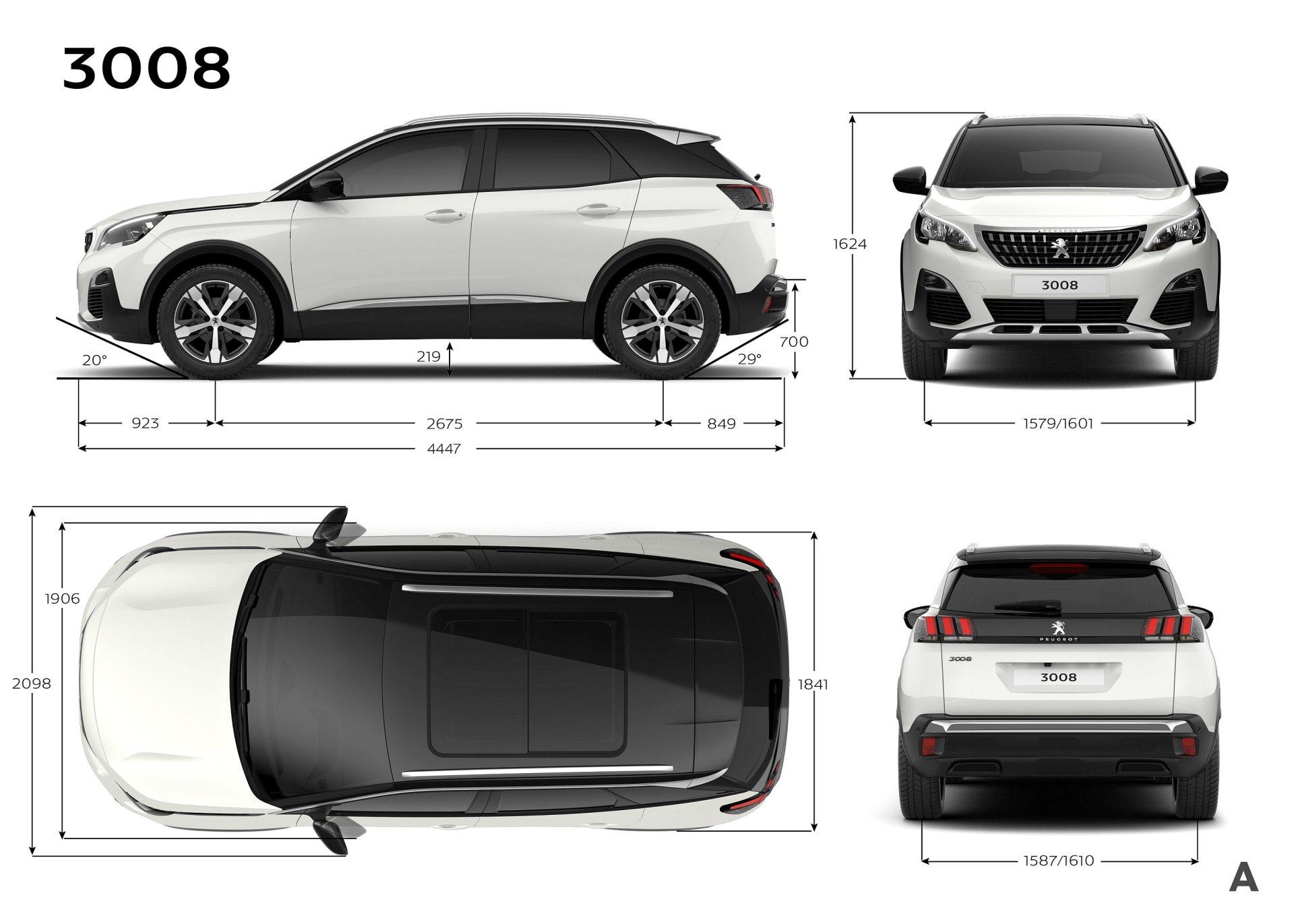 der neue peugeot 3008 suv statt crossover update preise alles auto. Black Bedroom Furniture Sets. Home Design Ideas