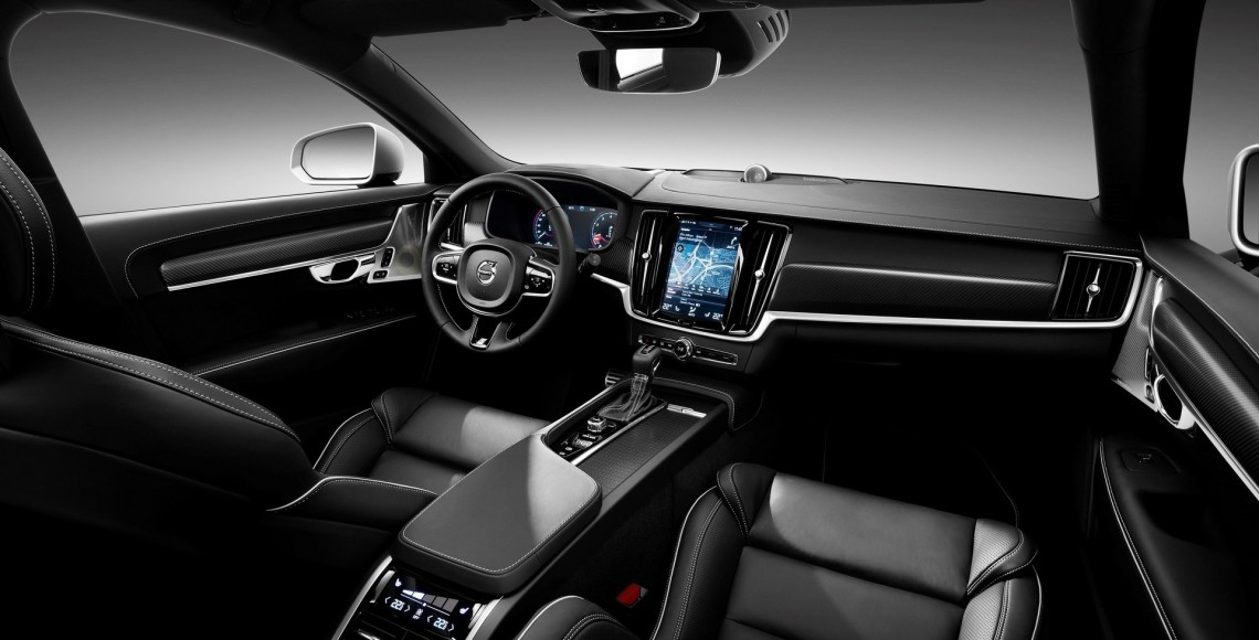 Volvo V90 R-Design Interior