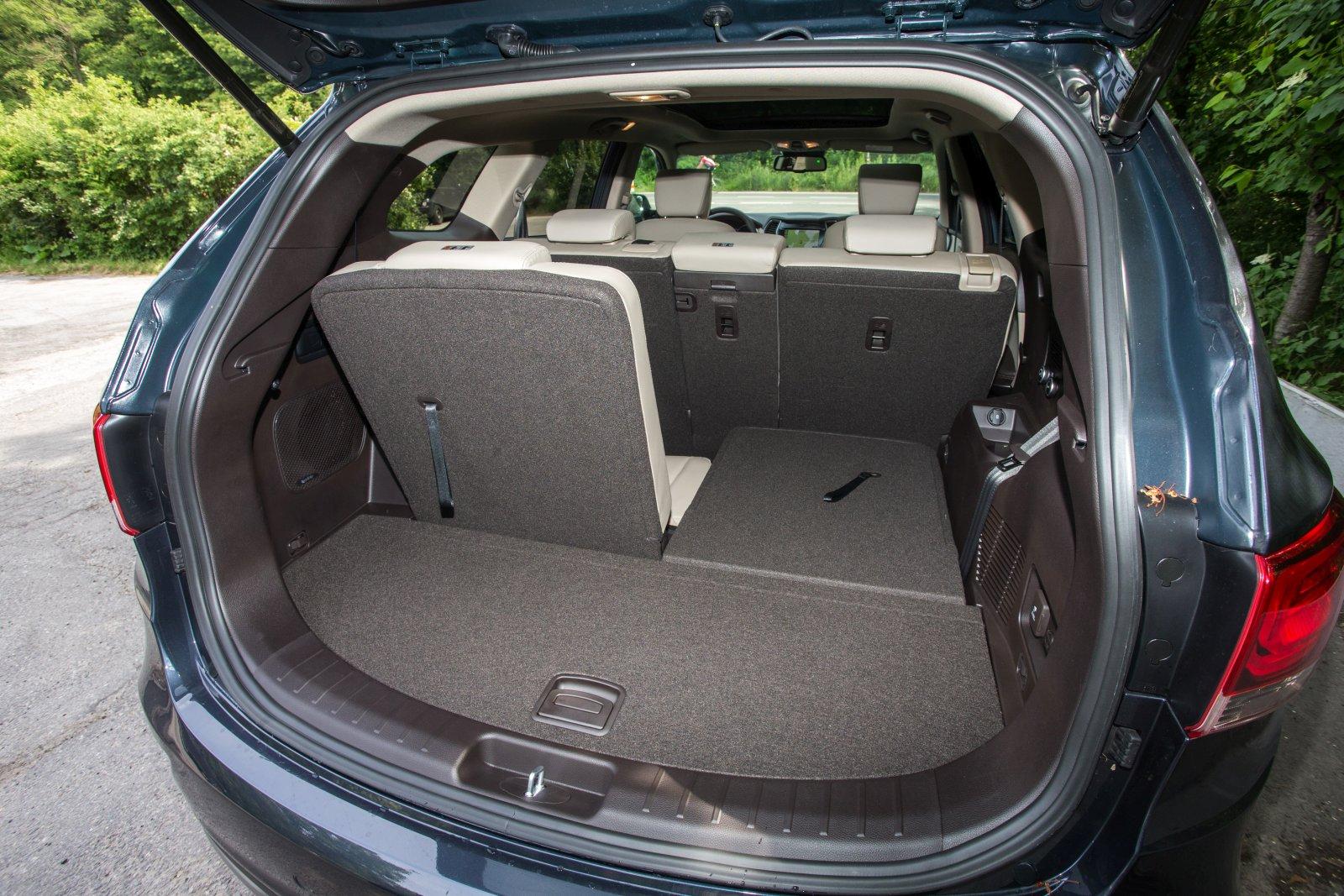 Hyundai Santa Fe 2020 Kofferraumvolumen
