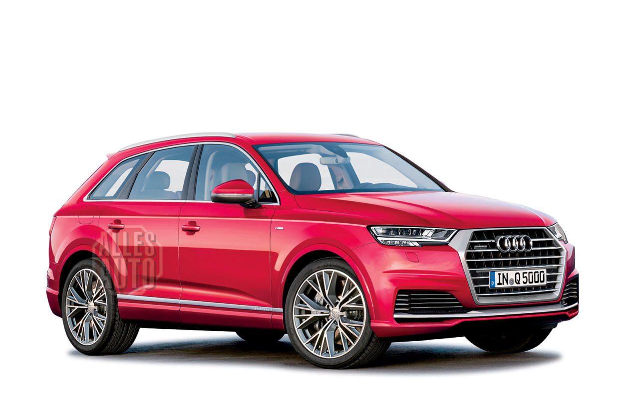 Der nächste Audi Q5 soll rund 70 Kilo abspecken, obwohl er etwas länger wird.
