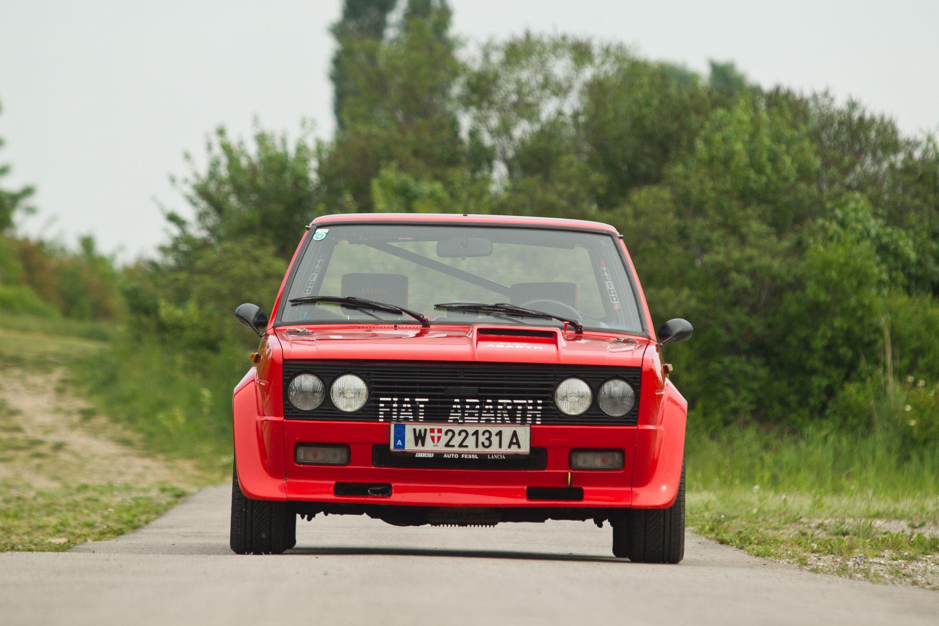 Exklusiv Fiat 131 Abarth Alles Auto