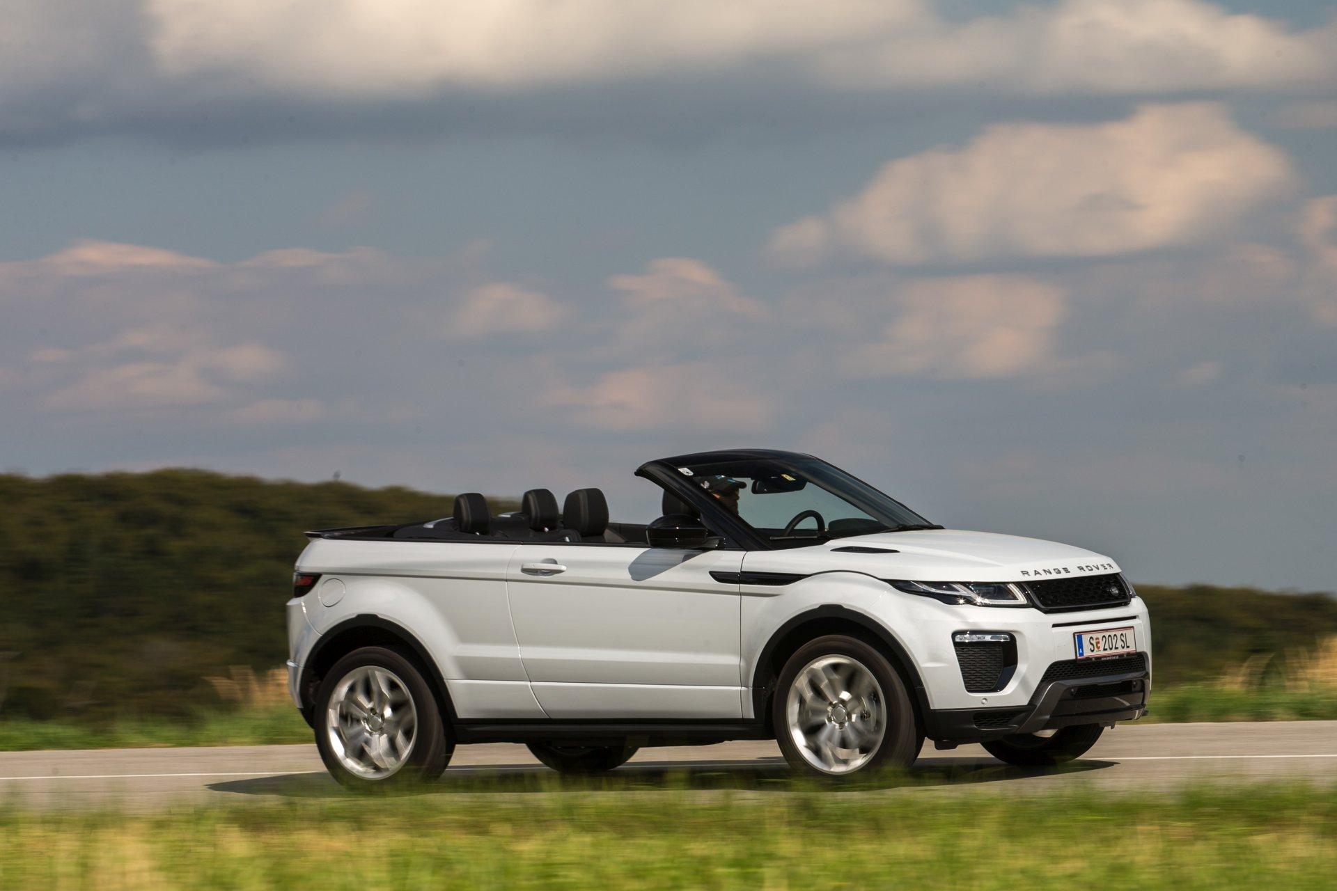 test range rover evoque cabriolet 2 0 td4 hse dynamic alles auto. Black Bedroom Furniture Sets. Home Design Ideas