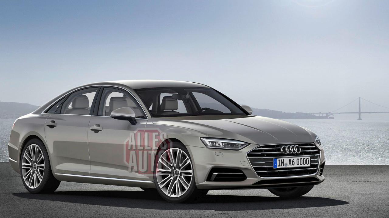 Mehr Charakter, schärfere Kanten, weniger Krawattenträger-Image: So wird wohl der neue Audi A6 aussehen,  enn er nächstes Jahr in die Schauräume kommt. (Bild: Pobletepress)