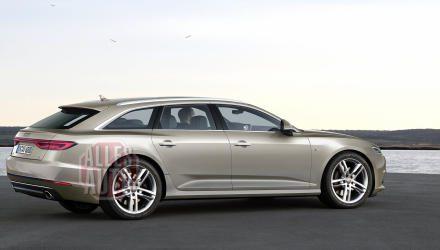 Der A6 Avant folgt 2018 und wird noch sportlicher in seiner Linie, das Heck noch flacher. Über einen Shooting Brake traut sich Audi aber – zumindest beim A6 – nicht. Auf jeden Fall wieder geplant: die hochgelegte Allroad-Variante. (Bild: Reichel Car Design)