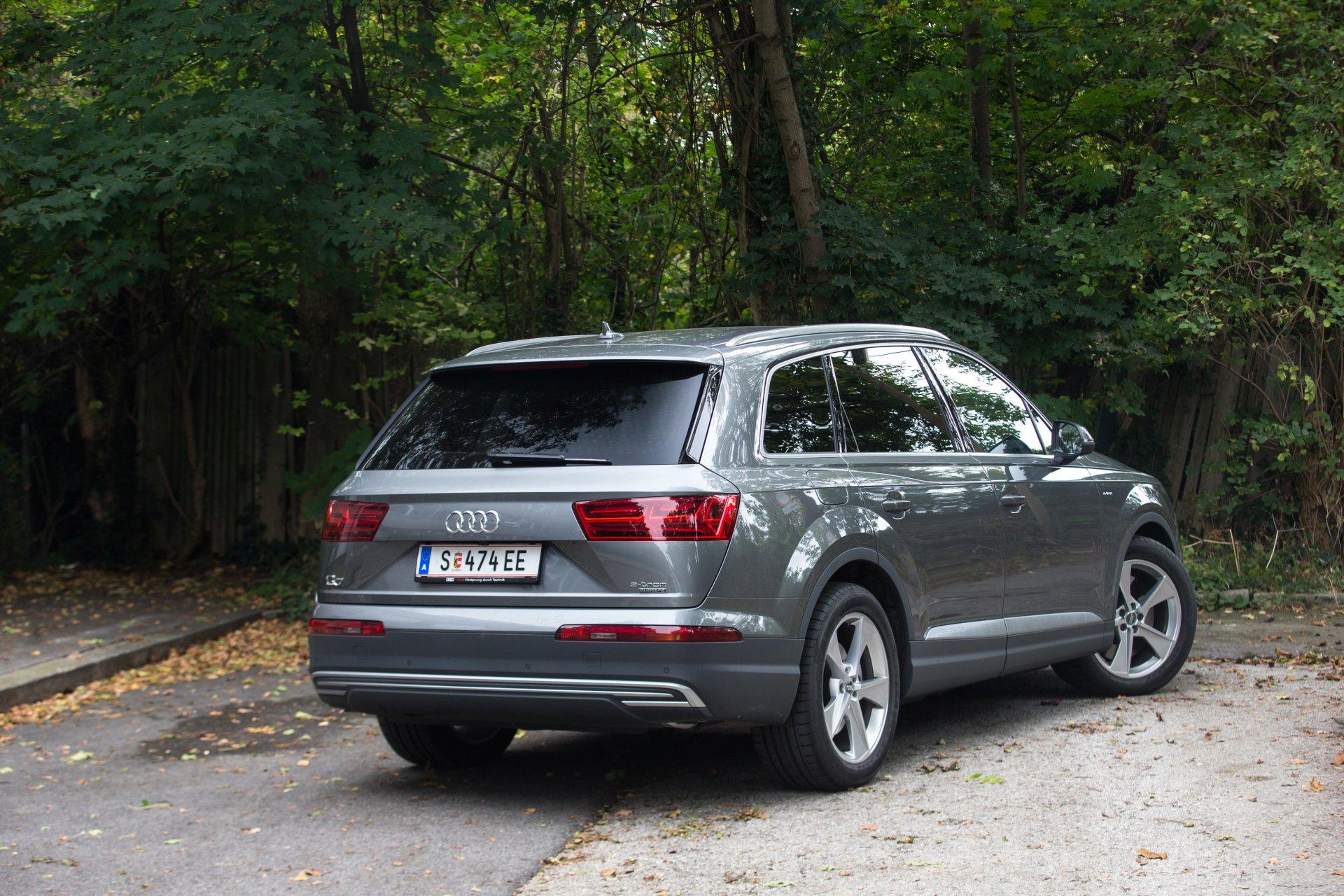 Test Audi Q7 E Tron Quattro Alles Auto