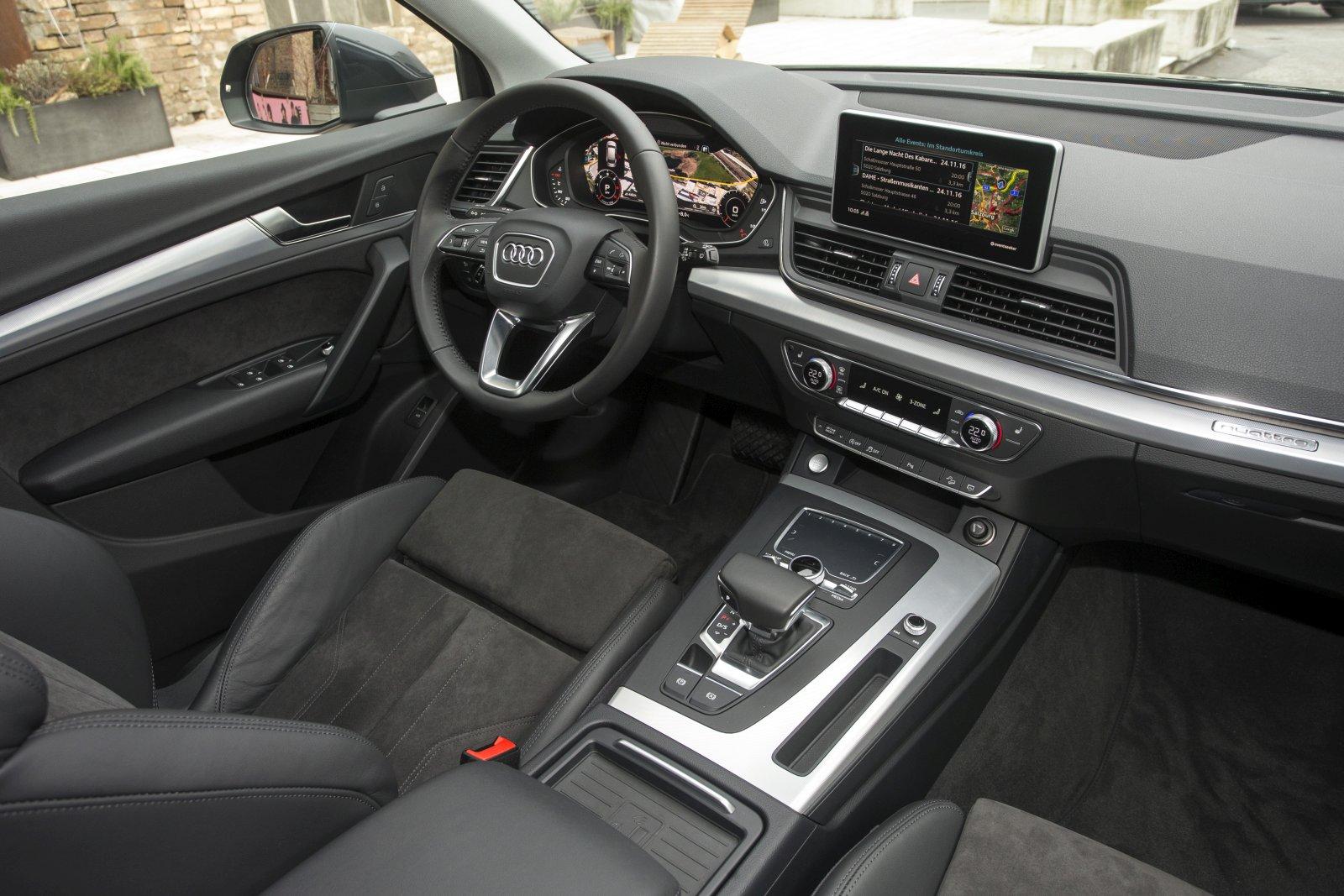 Neue Schon Gefahren Audi Q5 Alles Auto