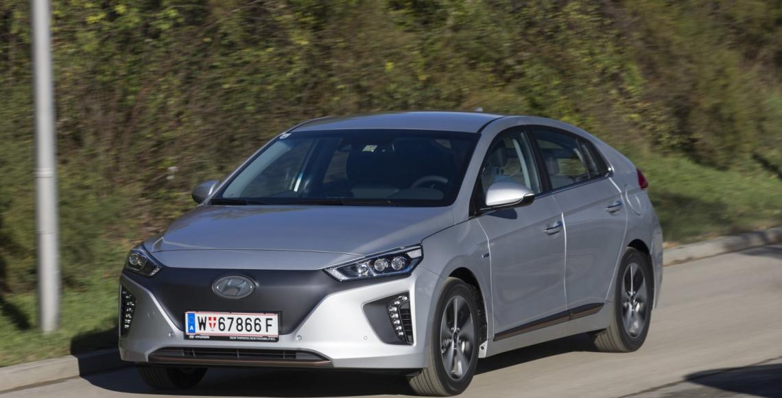 test hyundai ioniq elektro alles auto. Black Bedroom Furniture Sets. Home Design Ideas