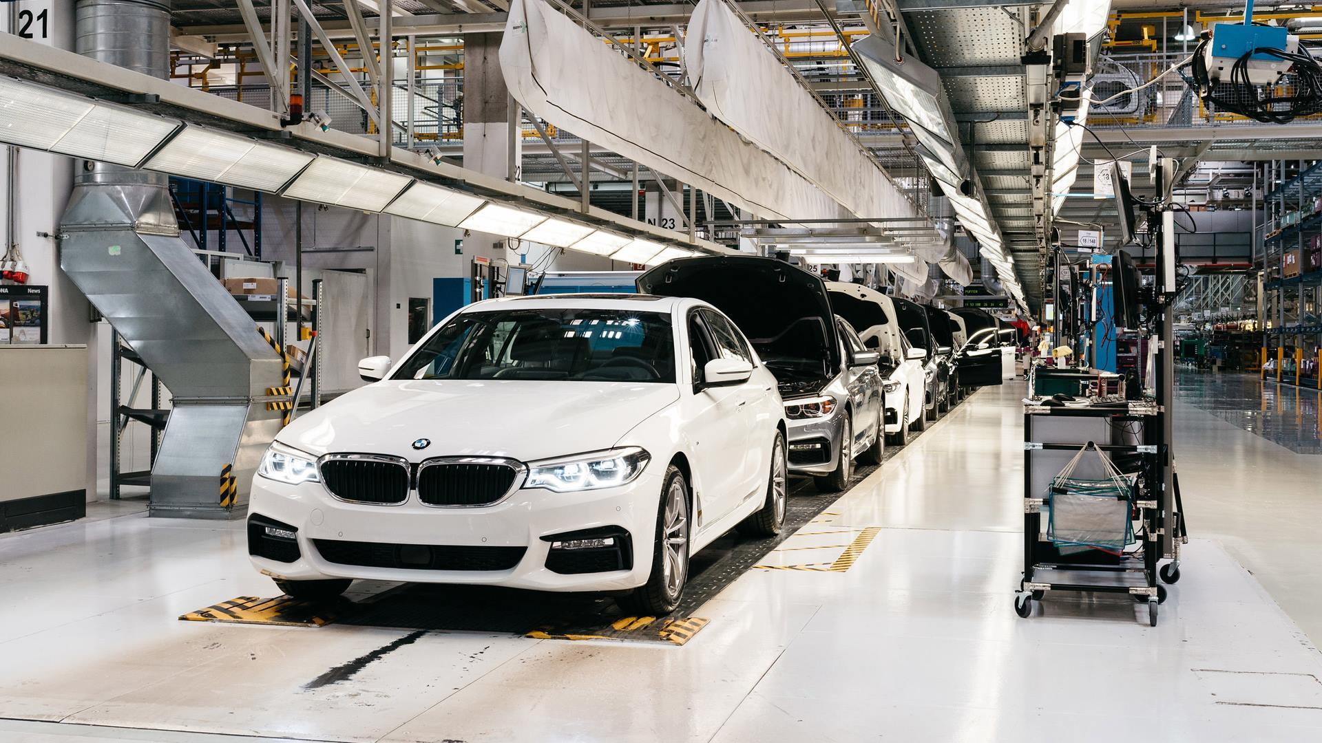 Bmw 5er Produktion Bei Magna In Graz Angelaufen Alles Auto