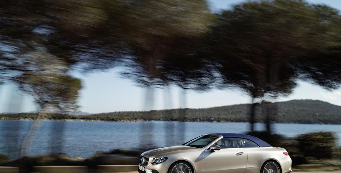Das neue E-Klasse Cabriolet - Offen für intensiven Genuss (5)