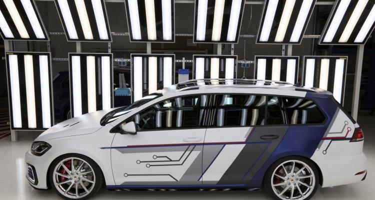 GTI-Treffen 2017 am Wörthersee: Der Golf GTE Variant ?impulsE