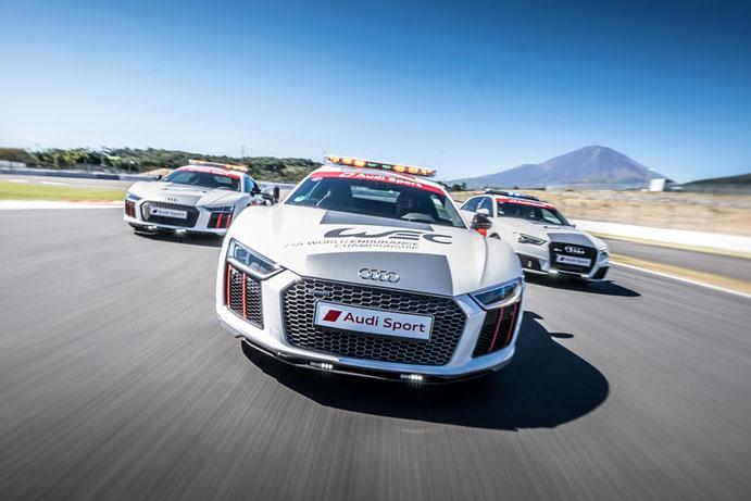 Safety- und Medical-Cars kommen von Audi.