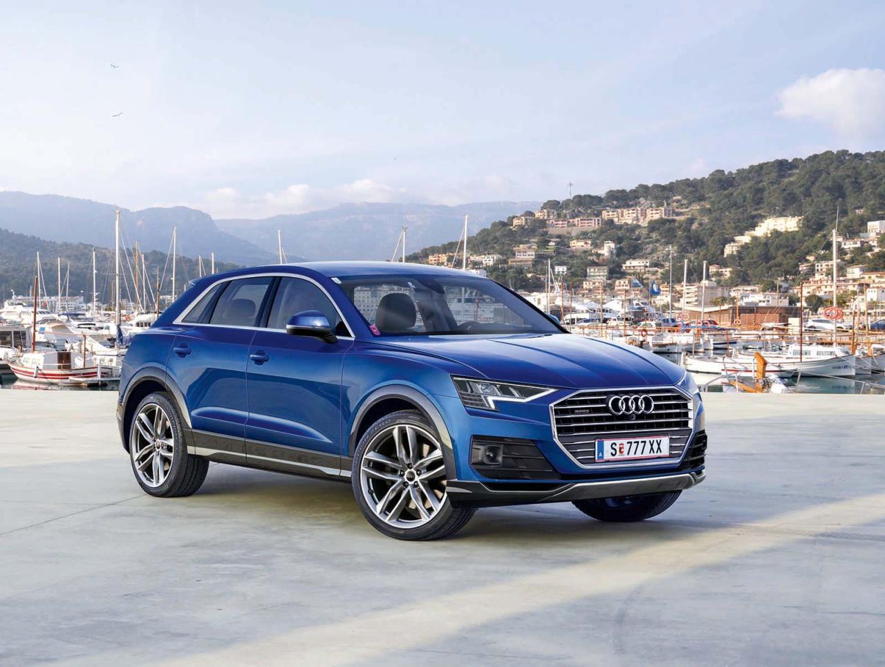 Kantigerer Look, das übliche Größenwachstum beim Singleframe-Grill und ein schärferer Blick – wie bei Audi gewohnt wird sich der Modellwechsel beim Q3 äußerlich eher im Rahmen eines Facelifts bewegen.