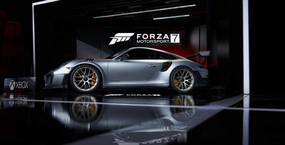 porsche 911 gt2 rs und mit forza motorsport 7 enth llt alles auto. Black Bedroom Furniture Sets. Home Design Ideas