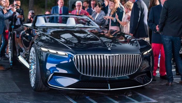 Enthüllung des Vision Mercedes-Maybach 6 Cabriolet.
