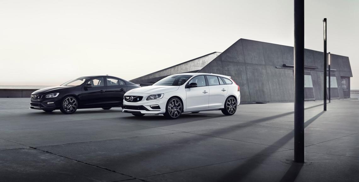 Volvo S60 und Volvo V60 Polestar
