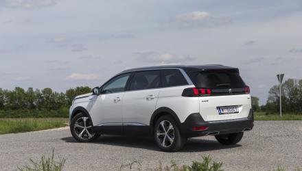 Für einen SUV enorm fahr- aktiv und handlich:  Kurven-Künstler  Peugeot 5008.