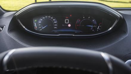 """Unterschiedlich gestaltbar: das """"iCockpit"""" des Peugeot 5008."""