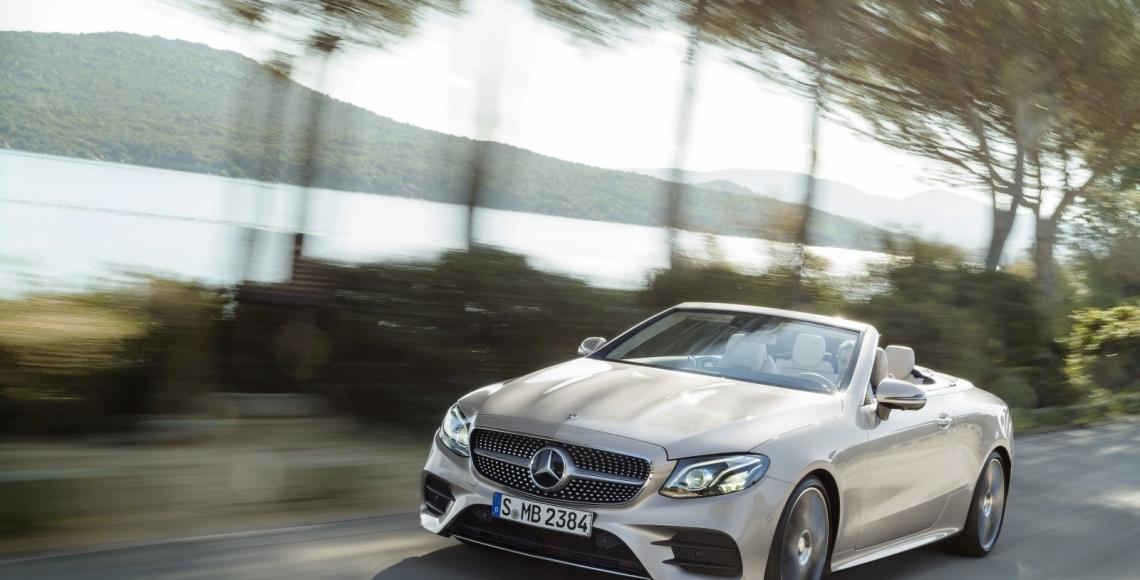 Ab sofort bestellbar: E-Klasse Cabriolet und Mercedes-AMG GLC-Modelle