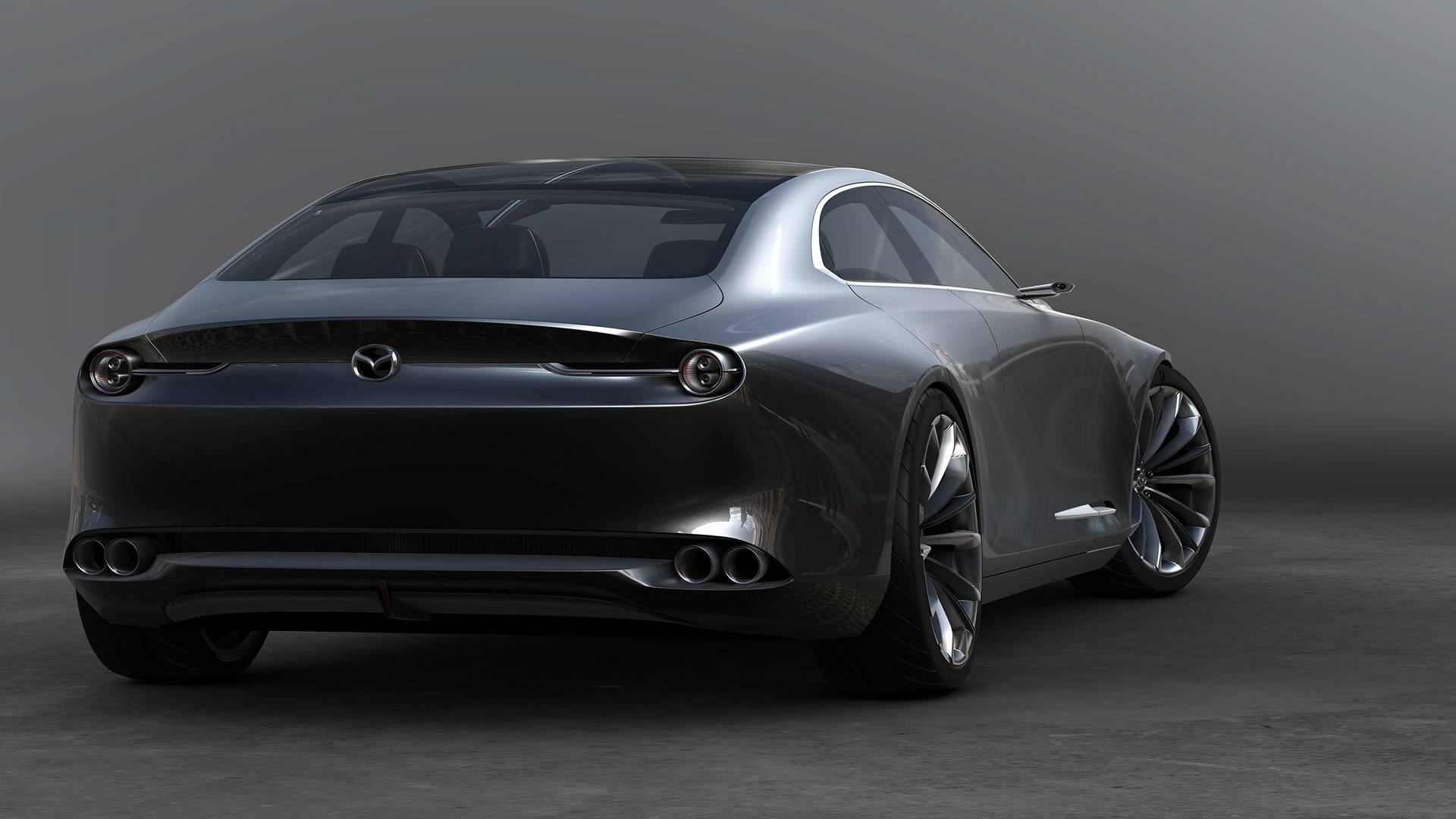 mazda vision coupe concept 2 alles auto. Black Bedroom Furniture Sets. Home Design Ideas