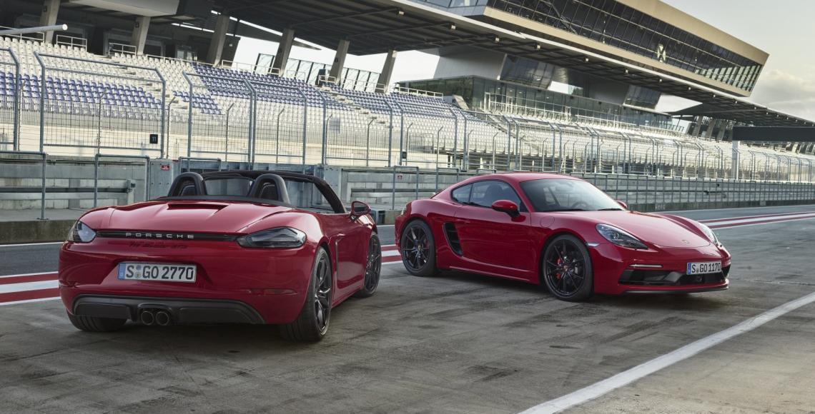 718 Boxster GTS und 718 Cayman GTS