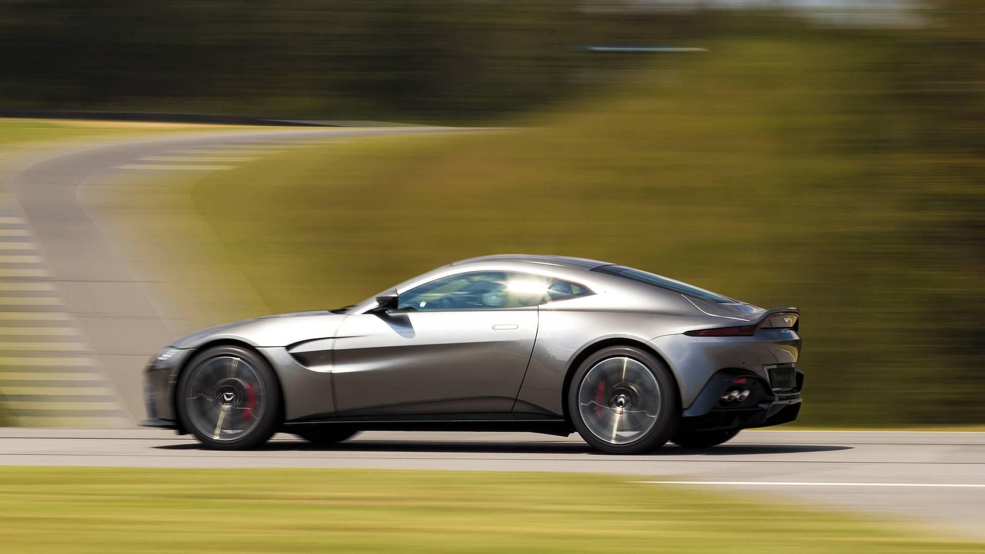 2018 Aston Martin Vantage vorgestellt - ALLES AUTO