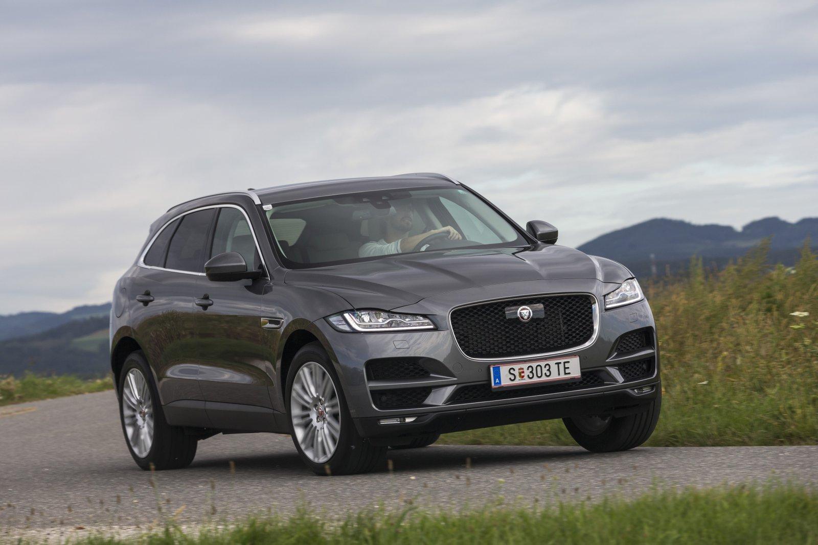TEST Jaguar F Pace 20d AWD Aut ALLES AUTO