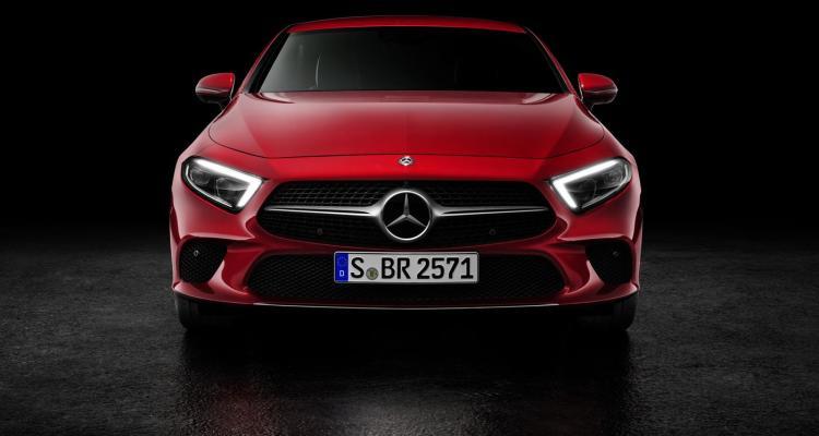 Mercedes-Benz CLS, 2017, Studio, designo hyazinthrot metallic, Leder Nappa macchiatobeige _ magmagrau