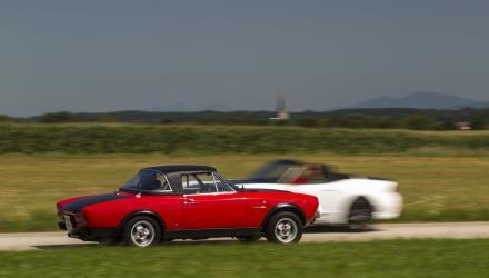 Warum damals das Cabrio für die sportlichen Ambitionen auserkoren und dafür mit einem Hardtop versehen wurde, ist bis heute ein Rätsel. Es hätte auch ein technisch baugleiches Coupé gegeben.