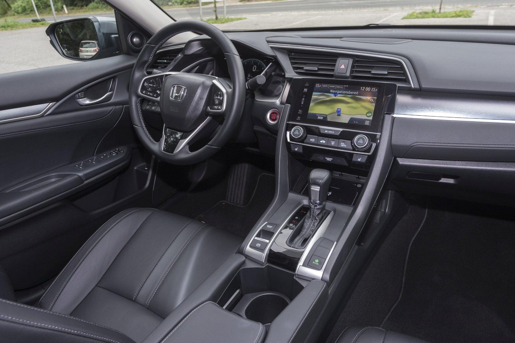 Test Honda Civic 4d 15 Vtec Turbo Cvt Executive Alles Auto