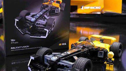 Nur 40 Stück bietet Renault von der Lego-Studie an.