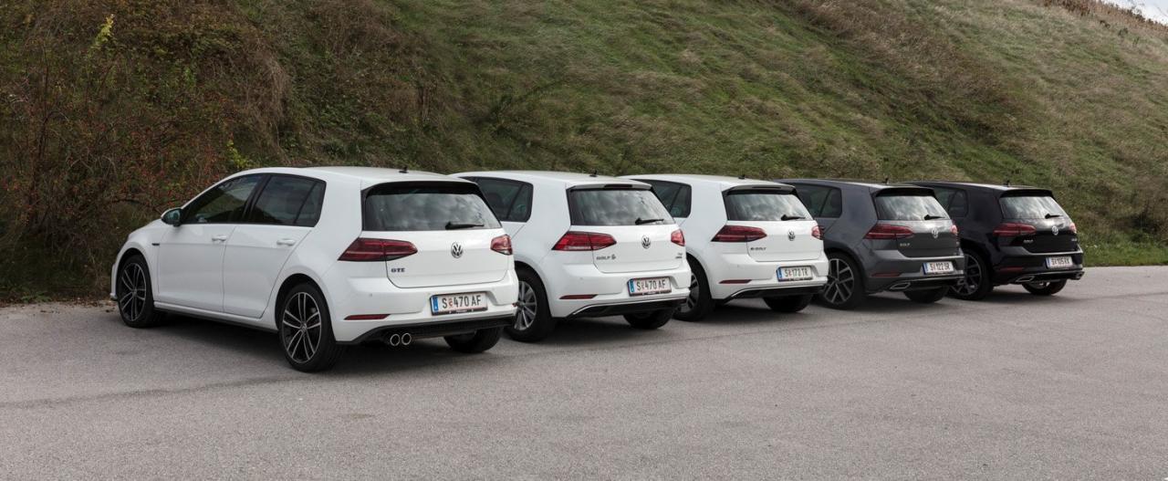 Unerwartete Reihung: Bei unserem Eco-Check mit einer angenommenen Laufzeit von fünf Jahren oder 60.000 Kilometern erweist sich der Erdgas-Antrieb als wirtschaftlichste Variante, gefolgt vom Benziner. Nur Vielfahrer kommen mit dem drittplatzierten Diesel langfristig besser weg. Aber auch der e-Golf kann bei höheren Kilometerleistungen aufschließen, sofern Ladezeit und Reichweite für die persönlichen Bedürfnisse des Besitzers ausreichen. Der Hybrid-GTE ist die teuerste, aber eben auch die vielseitigste Spielart des Themas Golf.