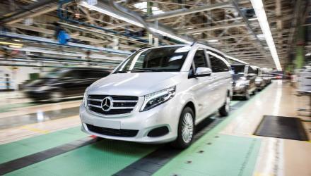 Dank Absatzerfolg von Vito und V-Klasse_ Mercedes-Benz Vans baut Kapazitäten im Leitwerk Vitoria deutlich aus