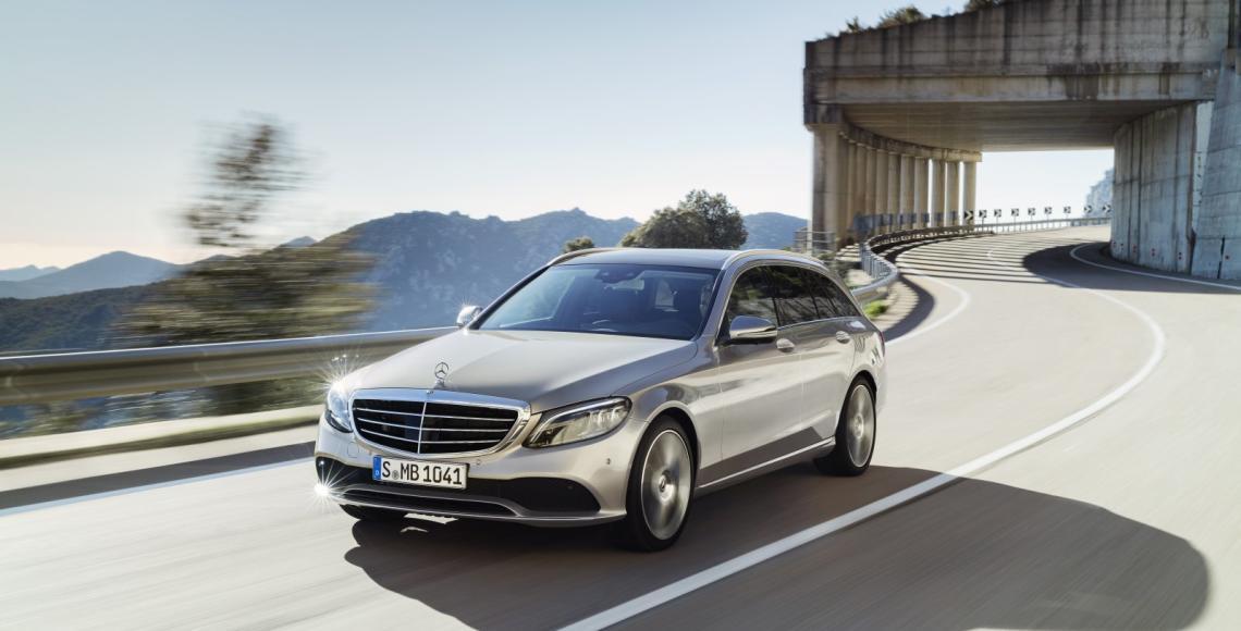 Mercedes enth llt die neue c klasse alles auto for Garage mercedes bron