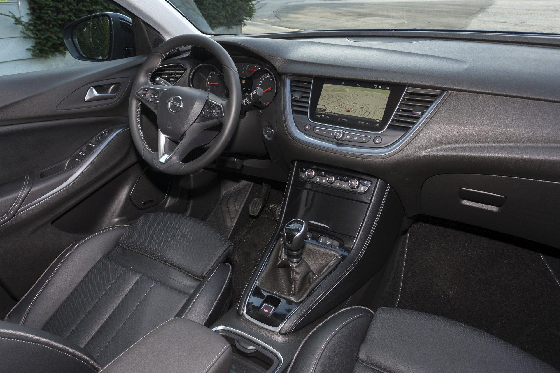 test: opel grandland x 1,2 turbo innovation - alles auto