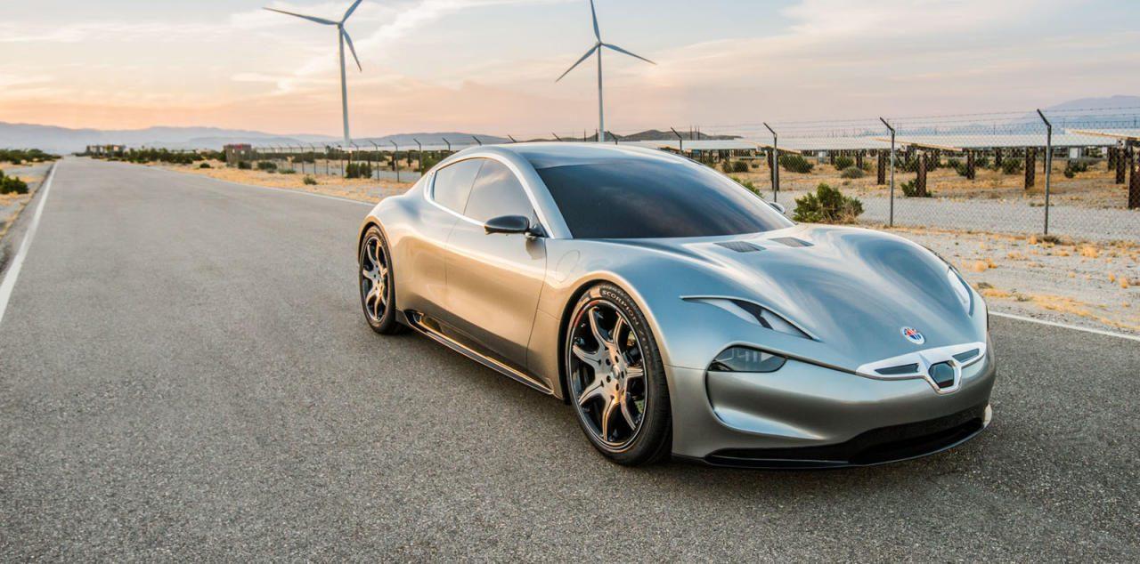 """Fisker will seine künftige Sportlimousine """"EMotion"""" ab 2023 mit einer Feststoff-Batterie ausstatten, deren Reichweite doppelt so groß ist wie die eines Lithium-Ionen-Akkus."""