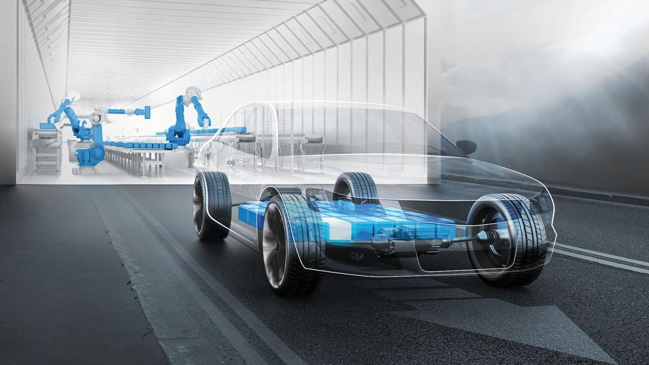 Forschung am Elektroauto: Im Bereich der Batterie sind derzeit die größten Entwicklungssprünge zu erwarten. Neue Technologien könnten die Reichweiten von Strom-Fahrzeugen deutlich vergrößern.