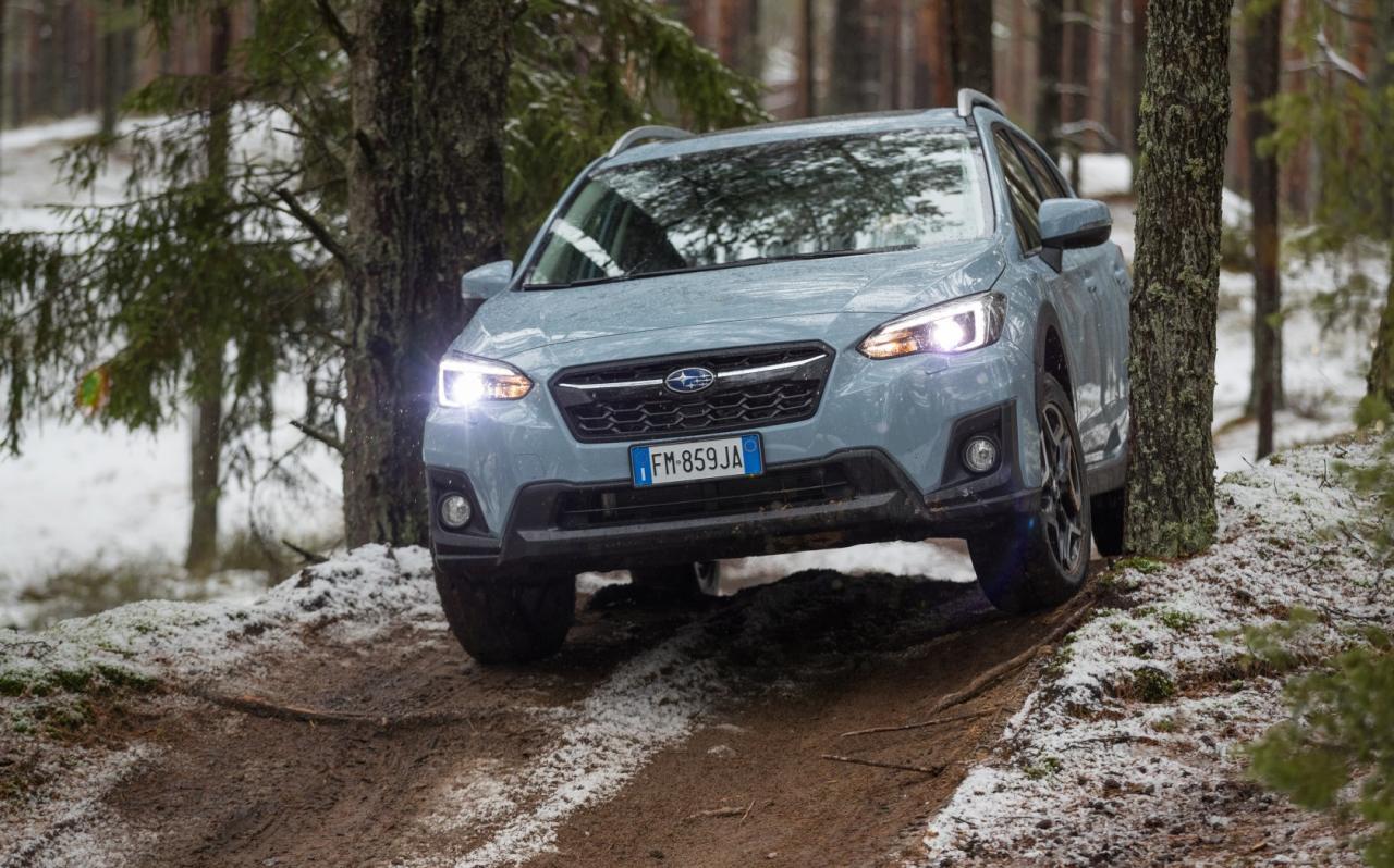 Mehr Arbeitsgerät als Lifestyle-Statement: Der neue Subaru XV sieht nicht nur geländegängig aus, er ist es auch.