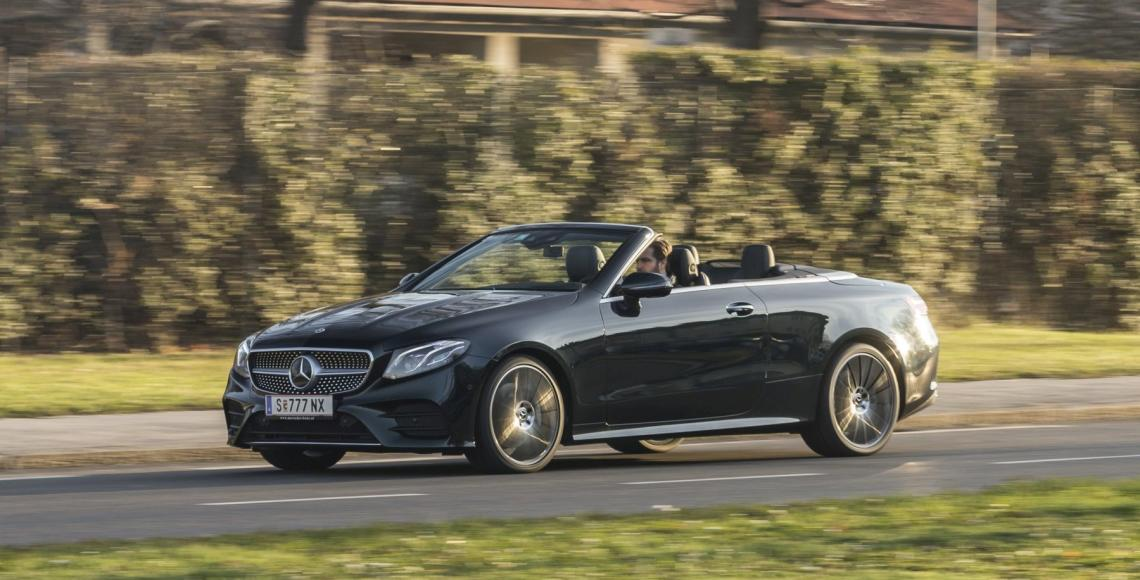 Test Mercedes E 400 4matic Cabriolet Alles Auto