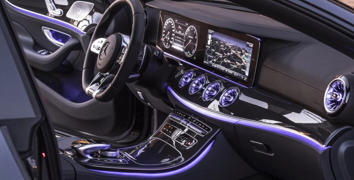 Der neue Mercedes-Benz CLS & Mercedes-AMG CLS 53 4MATIC+ | Barcelona 2018 // The New Mercedes-Benz CLS & Mercedes-AMG CLS 53 4MATIC+ | Barcelona 2018, Mercedes-AMG CLS 53 4MATIC+, graphitgrau Leder Nappa AMG bengalrot/schwarz, (Kraftstoffverbrauch kombinie