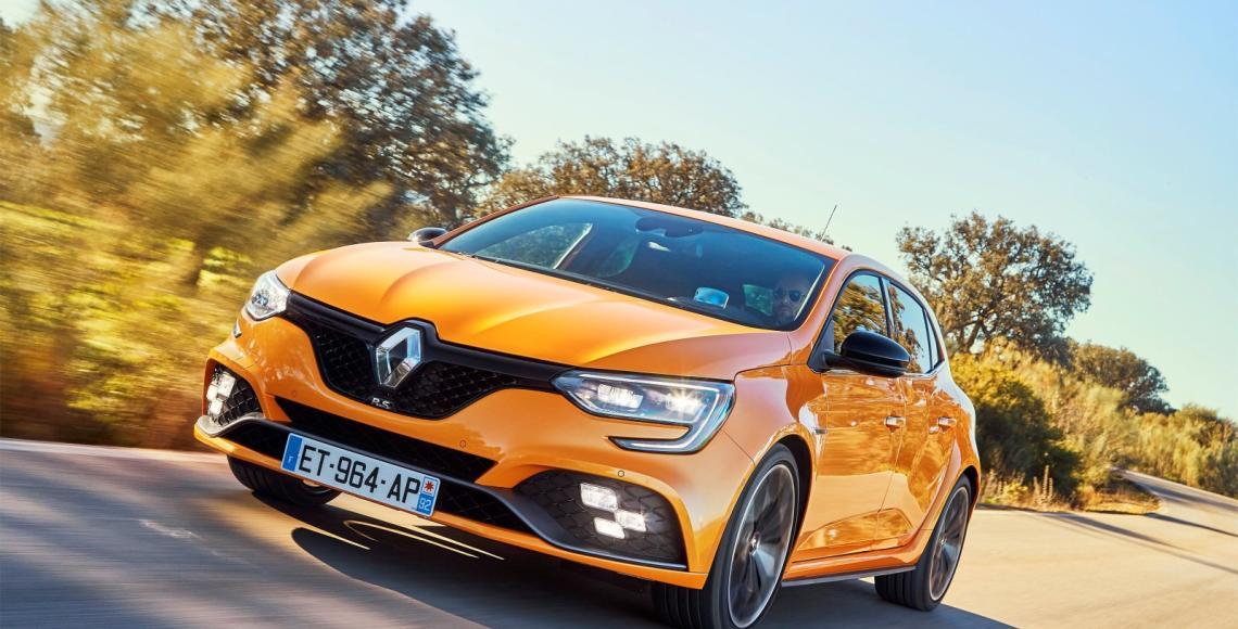 2018 - Essais presse Nouvelle Renault MEGANE R.S. chassîs Sport en Espagne