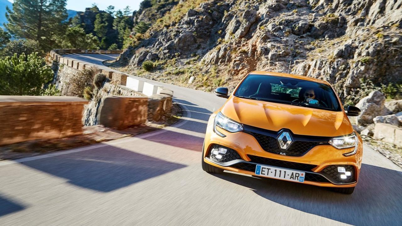 Dicke Hose auf Französisch: Der neue Renault Mégane R.S. kann mindestens so viel, wie er äußerlich darstellt.