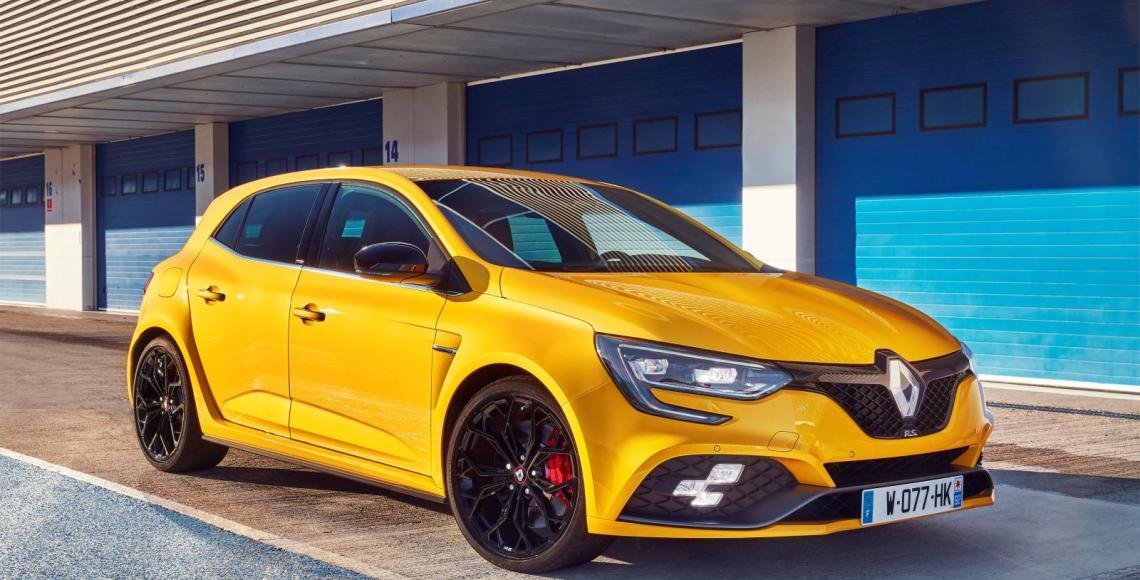 2018 - Essais presse Nouvelle Renault MEGANE R.S. chassîs Cup en Espagne
