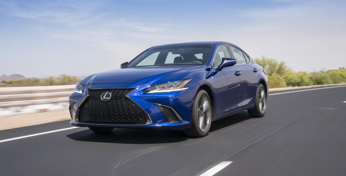 2019 Lexus ES F SPORT_28