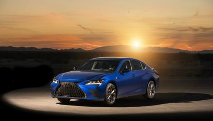 2019 Lexus ES F SPORT_36