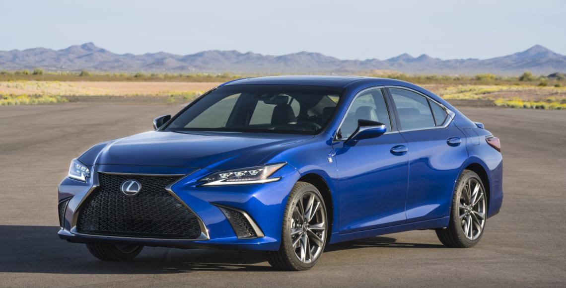 2019 Lexus ES F SPORT_38