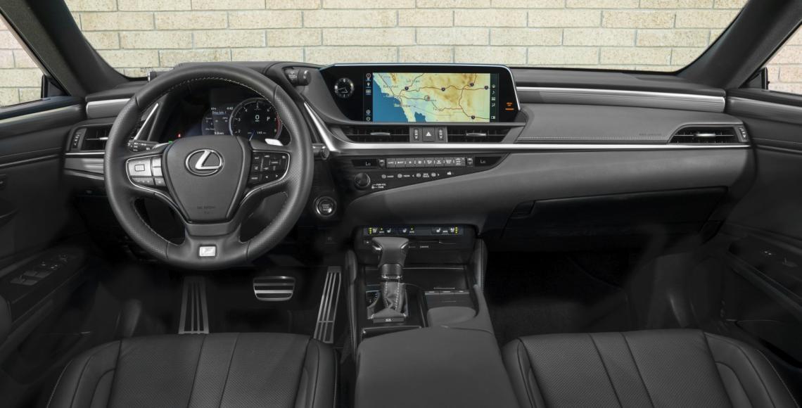 2019 Lexus ES F SPORT_39