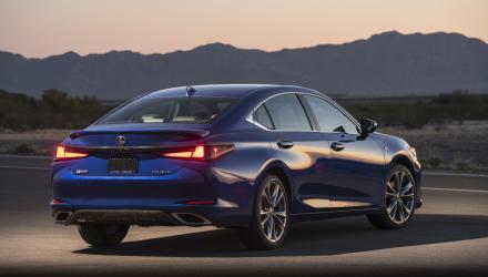 2019 Lexus ES F SPORT_53