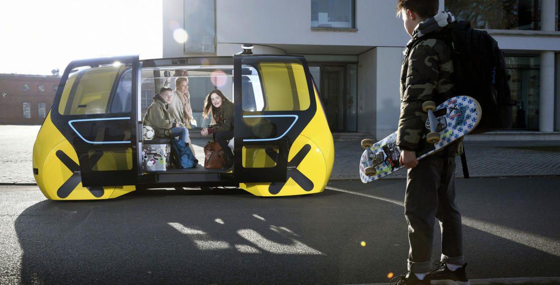 Mobilität für alle ? auf Knopfdruck: Volkswagen Konzern präsentiert jüngste Variante des SEDRIC